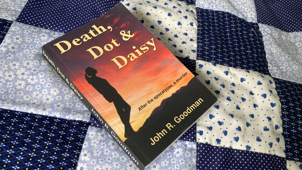 Death, Dot and Daisy with original cover
